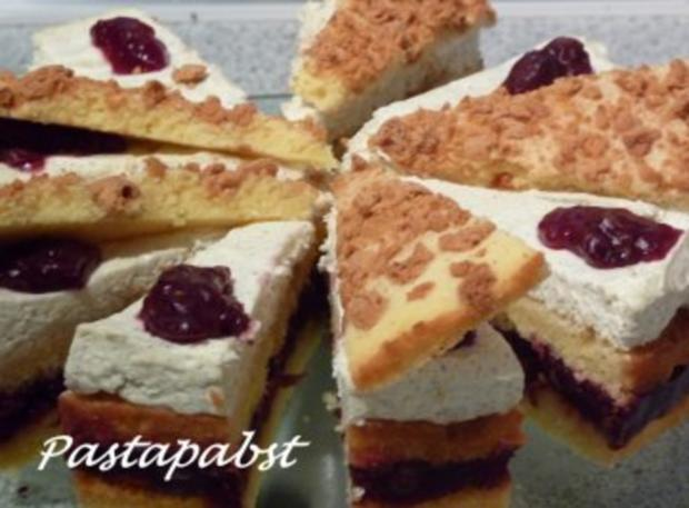 Amaretti-Kirsch-Torte - Rezept