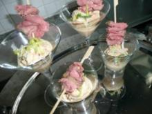 GLASFOOD 13 :Thunfisch-Roastbeef - Rezept
