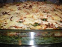Spinat-Lasagne - Rezept