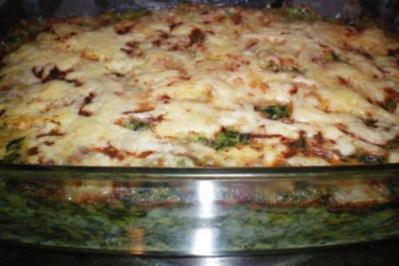 Rezept: Spinat-Lasagne