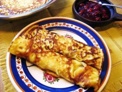Eier-Pfannkuchen - Rezept