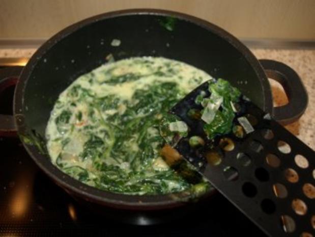 Dorsch im Spinatbett mit Kartoffeldecke - Rezept - Bild Nr. 5