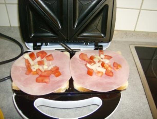 Schinken Käse Sandwich Toast - Rezept - Bild Nr. 5
