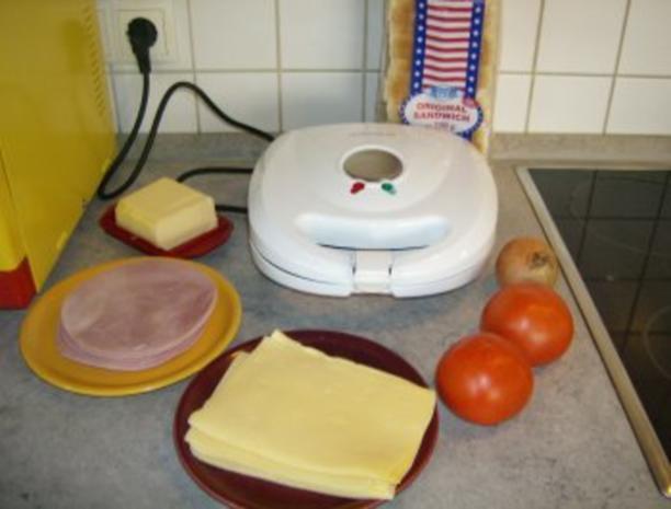 Schinken Käse Sandwich Toast - Rezept - Bild Nr. 2
