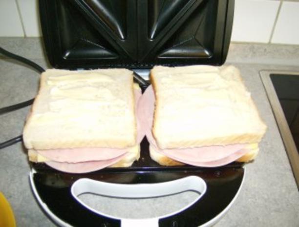 Schinken Käse Sandwich Toast - Rezept - Bild Nr. 6