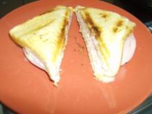 Schinken Käse Sandwich Toast - Rezept