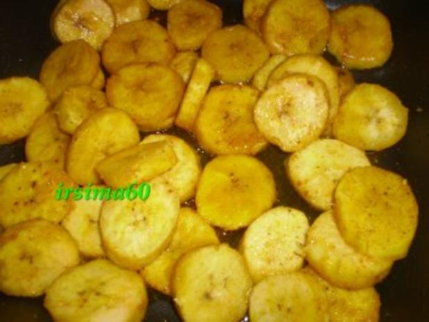 Bananen-Curry mit Kochbananen - Rezept - Bild Nr. 5