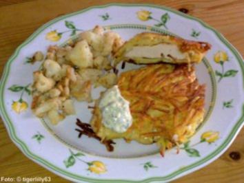 Knusper-Putenschnitzel in Kartoffelkruste - Rezept