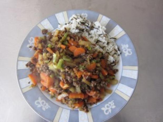 Gemüse Hackfleisch - Rezept