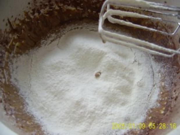 Biskuit-Creme-Schnitten - Rezept - Bild Nr. 4