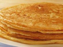 Pfannkuchen mit Käse - Rezept