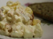 Mango-Lachs-Salat mit Mozzarella - Rezept