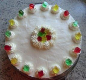 &#9829 Konfetti -Torte &#9829 - Rezept