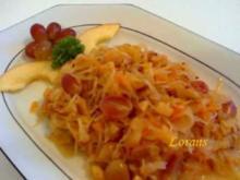 Trauben - Sauerkraut - Rezept
