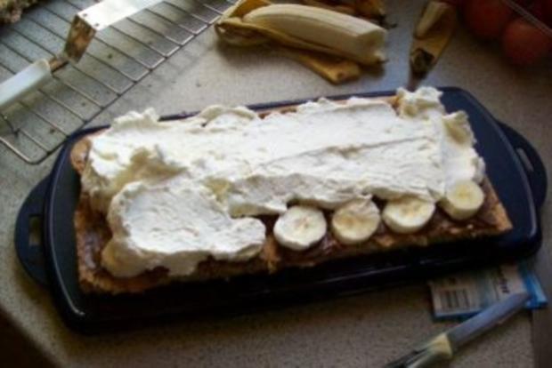 Bananensplit-Schnitte - Rezept - Bild Nr. 2