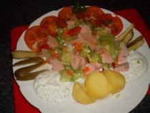Kräuterquark mit Pellkartoffeln .... - Rezept