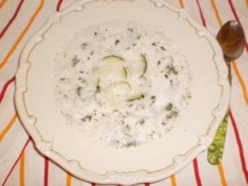 Gurken-Dill-Suppe - Rezept