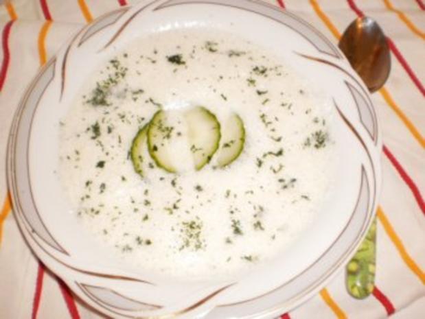 Gurken-Dill-Suppe - Rezept - Bild Nr. 2