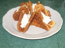 Kuchen - Apfelwaffeln - Rezept