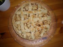 Apfel-Gitter-Kuchen - Rezept