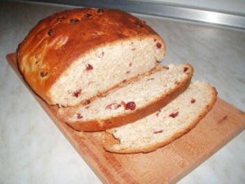 Mandelbrot mit Cranberrys - Rezept