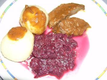 Rezept: Rehkeule mit Rotwein - Gemüsesoße