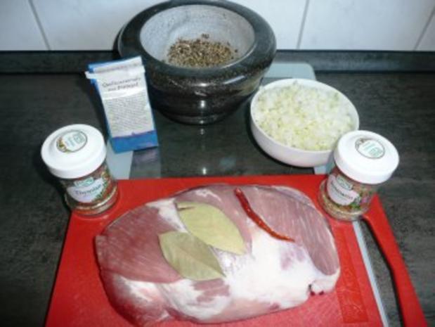Schweinebraten nach Art des Hauses Quell - Rezept - Bild Nr. 2