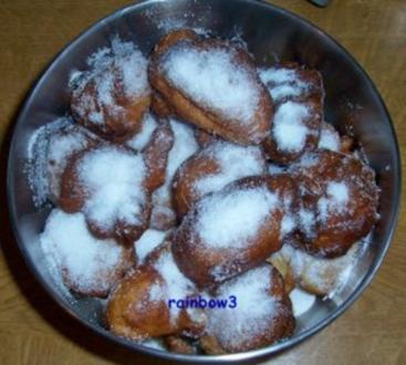 Backen: Quarkkrapfen - Rezept