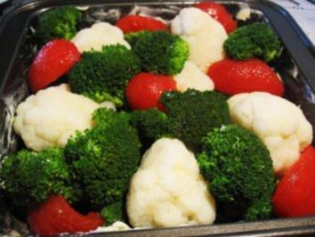 Broccoli-Blumenkohl-Gratin - Rezept