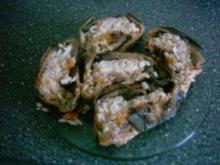 Auberginen-Zopf - Rezept