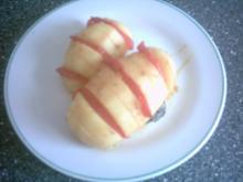 Marinierte Kartoffel - Tomaten - Fächer - Rezept