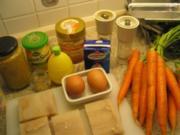 Fisch + Meeresfrüchte:  Seelachs gebraten, auf karamellisieren Karotten - Rezept
