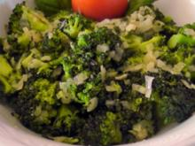 ~Beilage~ gebratene Brokkoliröschen - Rezept