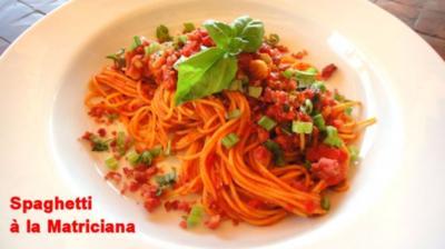 Pasta - Pomodoro e Matriciano - Rezept