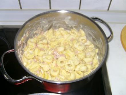 Tortellini Panna - Rezept
