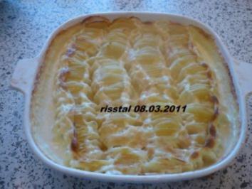 Kartoffelgratin - Rezept
