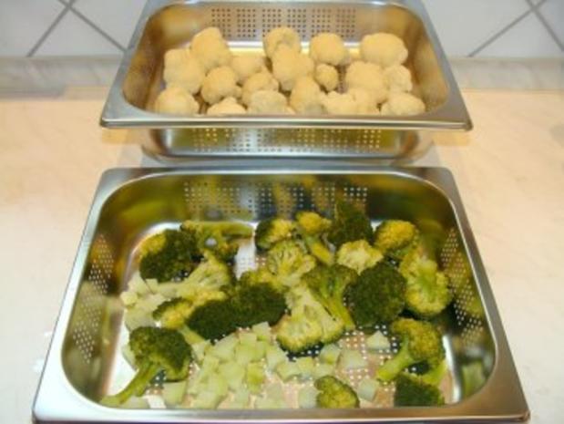 Paccheri mit Blumenkohl-Broccoli-Füllung - Rezept - Bild Nr. 4