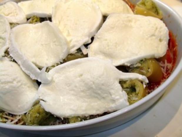 Paccheri mit Blumenkohl-Broccoli-Füllung - Rezept - Bild Nr. 8