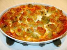 Paccheri mit Blumenkohl-Broccoli-Füllung - Rezept