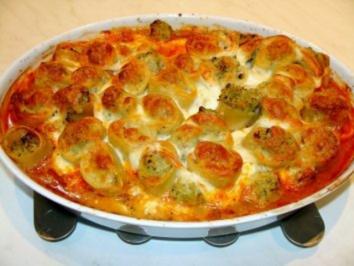 Rezept: Paccheri mit Blumenkohl-Broccoli-Füllung
