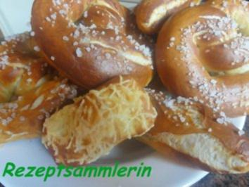 Hefe:    LAUGENGEBÄCK - Rezept