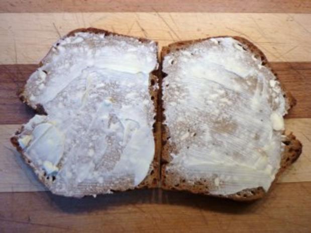 Schnelles Käsesandwich aus der Pfanne - Rezept - Bild Nr. 2