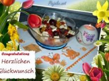 Salat : Paprika - Traube - Feta - Rezept