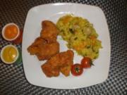 Chicken - Nuggets im Knuspermantel, geht auch mit Wings ! - Rezept
