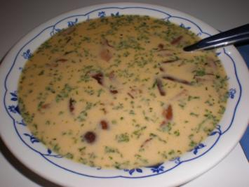 Rezept: Schwammerlsuppe