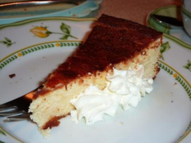 Torten: Käsekuchen ohne Boden - Rezept
