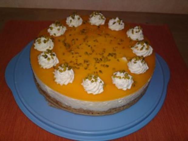 Exotische Käse-Sahnetorte - Rezept - Bild Nr. 2