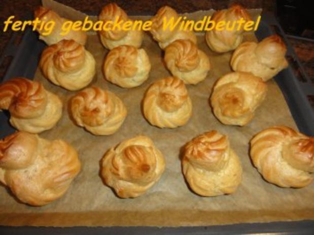 Brandteig:   WINDBEUTEL - Rezept - Bild Nr. 12