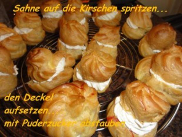 Brandteig:   WINDBEUTEL - Rezept - Bild Nr. 15