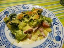 Broccoli-Kassler-Kartoffel-Auflauf - Rezept